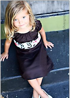 Espresso Party Dress  simplicitycouture {{thinking this can't be THAT hard to make. famous last words....}}