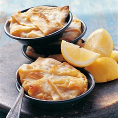 Pastilla mit Meeresfrüchten