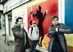 Keane in front of Edeka - Berlin