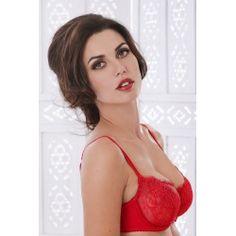 Piège Lingerie  Soutien-gorge corbeille dentelle rouge NEW GRACE Tulle, Grace, Lingerie, Sexy, Formal Dresses, Fashion, Red Lace, Dresses For Formal, Moda