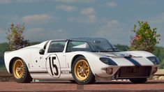 1965 Ford GT Competition Prototype Roadster presented as Lot at Kissimmee, FL Ford Sports Cars, Sport Cars, Race Cars, Ford Gt40, Ford Shelby, Pagani Huayra, Collector Cars, Bugatti Veyron, Illusions