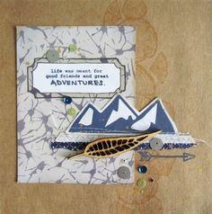 Wild Whisper April Stamp and Sequin Release - Card by Heather Ulmer