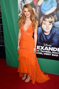 Bella Thorne – 'Alexander and the Terrible, Horrible, No Good, Very Bad Day' Premiere