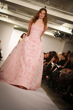 Oscar de la Renta pink perfection