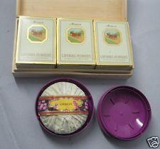 4 Seifenstücke Lavendelseife Savon a la lavande Mouson in Holzkiste+Roger Gallet