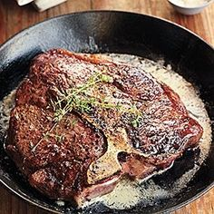 Grill marks look good, but the best steak you'll ever cook may come from the frying pan.