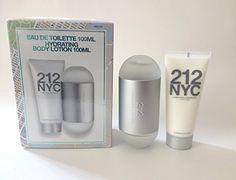 Cool Carolina Herrera 212 NYC Gift Set - Eau De Toilette Spray 3.4oz. & Hydrating Body Lotion 3.4oz. for Women