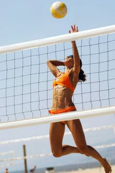 Beach Volleyball...where'd they get this photo of me?? ;)