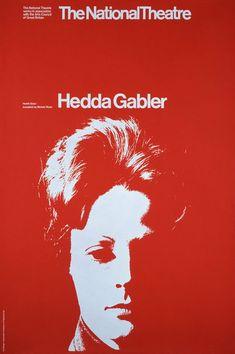 Hedda Gabler - National Theatre Posters
