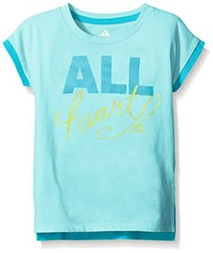 Adidas Baby Girls' Short Sleeve Graphic Tee Shirt - http://bigboutique.tk/product/adidas-baby-girls-short-sleeve-graphic-tee-shirt/