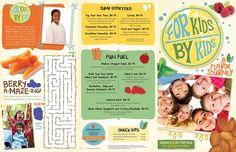 For Kids By Kids Menu 2012 - Hyatt Regency Austin - page 2