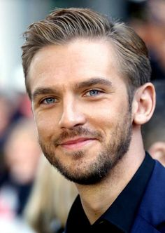 Dan Stevens - oh well, heyyy. look at you with facial hair, my friend