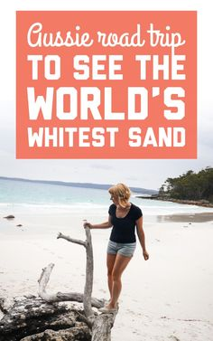 Hyams Beach is a totally idyllic Australian destination surrounded by national parks, wild kangaroos, and cute little beach towns. Here's how to see the world's whitest sand on a road trip from Sydney! / A Globe Well Travelled