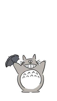 아이폰 캐릭터 일러스트 화이트 배경화면_kaerusensei : 네이버 블로그 Abstract Iphone Wallpaper, Wallpaper Backgrounds, Minimalist Drawing, My Neighbor Totoro, Illustrations And Posters, Studio Ghibli, Cute Cartoon, Cute Wallpapers, Cute Art