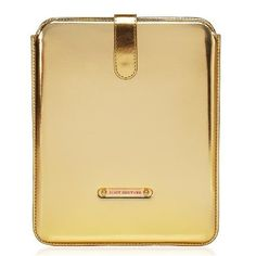 Couture Mirrored Sleeve Case For iPad Gold