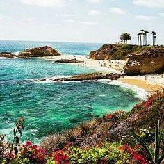Aliso Beach Park. Laguna Beach, California, USA.