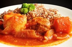 Pork Stew with Tomatoes Recipe