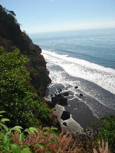 El Salvador.... I'd like to be there on the ocean- eating the food of my peeps :) and swimming in the ocean