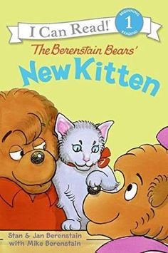 The Berenstain Bears' New Kitten I Can Read