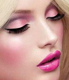 Beautiful Pink Eye Makeup Tutorial
