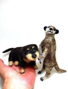 Neue Filztiere auf meiner Homepage www.hope-bears.com