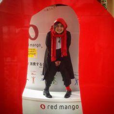 #redmango #noclue #redandblack