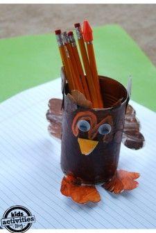 Thanksgiving turkey Craft - Kids Activities Blog