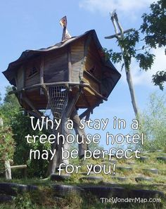 Dream of connecting with nature? There may be no finer vacation than to stay a night in the treetops. Click for our guide on the most amazing treehouse hotels around the world.