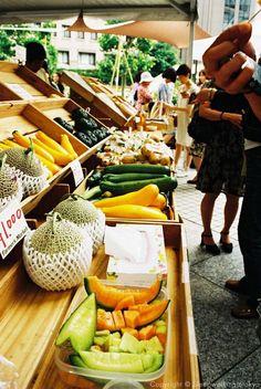 Farmers market at UNU, Aoyama