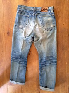 Lee 101B Japan (Raw Denim) Size US 30 / EU 46 - 5