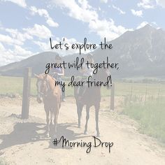 Let's explore...  - Anchor Drop #friends #MorningDrop