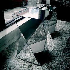 mirrored & geometric