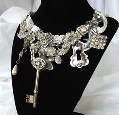 Steampunk necklace.
