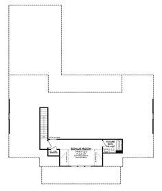 Farmhouse Home - 4 Bedrms, 3 Baths - 2390 Sq Ft - Plan Country House Plans, New House Plans, Dream House Plans, House Floor Plans, Modern Farmhouse Plans, Farmhouse Design, Farmhouse Style, Rustic Farmhouse, Bungalow