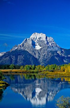 Jackson Lake, Grand Teton National Park; Wyoming USA