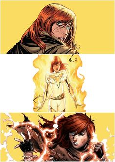 "Hope Summers - White Phoenix ""I know why you're scared. You think the Phoenix is either going to kill me or drive me crazy. Or maybe both. Just like it did Jean. But I'm not your dead wife, Scott. That's not my story. """