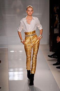yellow #jeans #pants #zara $79.90   Ropa, Zara, Pantalones