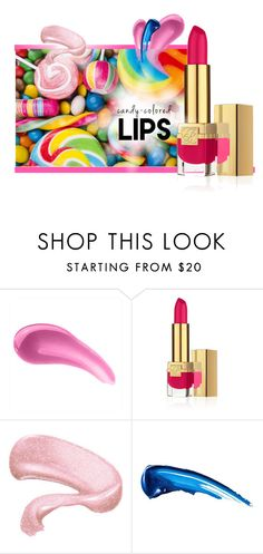 """""""Candy Coloured Kisses"""" by patricia-dimmick on Polyvore featuring beauty, Estée Lauder, By Terry, Anastasia Beverly Hills, lipcolor and candylips"""
