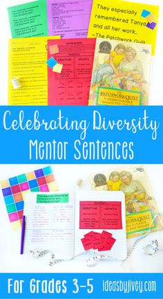 Celebrating diversity in the classroom is so important! Check out these Common Core aligned activities, lesson ideas, graphic organizers, and writing prompts for 10 of your favorite mentor texts that celebrate diversity to use in grades 3-5. Click the pin to see all activities included!