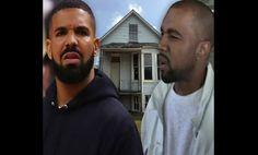 La maison d'enfance de Kanye West « vandalisée » par les fans de Drake Trippie Redd, Kanye West, Drake, Fans, People, Fictional Characters, Rapper, Childhood, Home