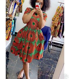 ANKARA MINI GOWNS STYLES-Mini-length dresses are classy, chic and the very thing you should be looking at including in your wardrobe. African Fashion Skirts, South African Fashion, African Fashion Designers, African Dress, Shweshwe Dresses, Ankara Gowns, Traditional Dresses, Diy Fashion, Slay