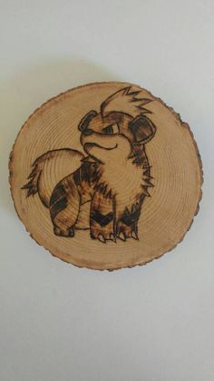 Check out this item in my Etsy shop https://www.etsy.com/ca/listing/463201398/growlithe-pokemon-wood-burning