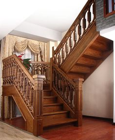 Spindle And Handrail Designs Related Image Family Room Addition Wooden Staircases Additions Antique Construction