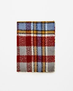 Image 1 of SOFT CHECK SCARF from Zara