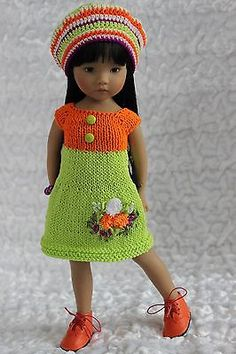 "OOAK наряд для работы 13 ""Dianna EFFNER LITTLE DARLING in Dolls & Bears, Dolls, Clothes & Accessories 