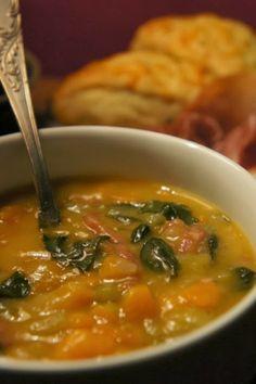 Une soupe à tomber : Soupe cajun de patates douces et épinards