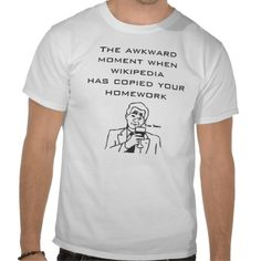 The awkward moment t-shirt