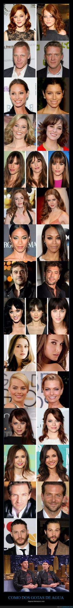 Los padres de todos estos famosos tienen alguna explicación que dar... - Algunos famosos lo son