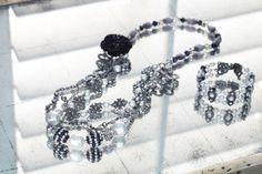 Belle Epoque Bracelet by Heidi Parviainen.  Full Instructions available on Michaels.com