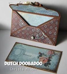 Hoi allemaal. De 470.713.018 Envelope Art Scallop rechthoekig is een hele mooie sierlijke envelop mal. Je kan zoveel kanten hier mee op...